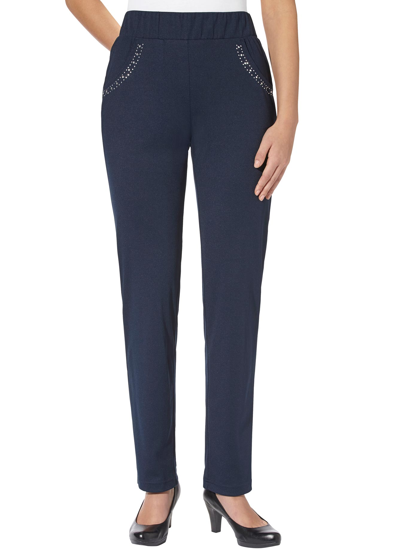 Image of Casual Looks Jersey-Hose in angenehm weicher Qualität