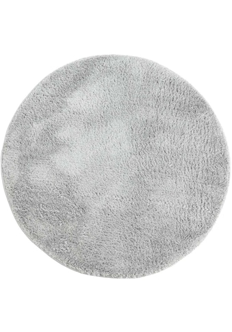 Carpet City Hochflor-Teppich »Softshine 2236«, rund, 30 mm Höhe, besonders weich durch Microfaser, Wohnzimmer kaufen