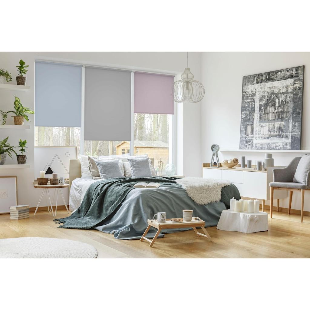 GARDINIA Seitenzugrollo »EASYFIX Rollo Uni«, Lichtschutz, ohne Bohren, freihängend, in sanften Pastelltönen