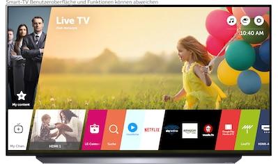 """LG OLED-Fernseher »OLED48C17LB«, 121 cm/48 """", 4K Ultra HD, Smart-TV, (bis zu 120Hz)-α9... kaufen"""