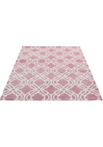 Sehrazat Teppich »Carina 6900«, rechteckig, 2 mm Höhe, Flachgewebe mit Baumwolle, Wohnzimmer kaufen