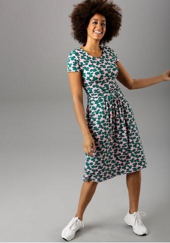 Aniston SELECTED Sommerkleid, mit Falten im Taillenbund - NEUE KOLLEKTION kaufen
