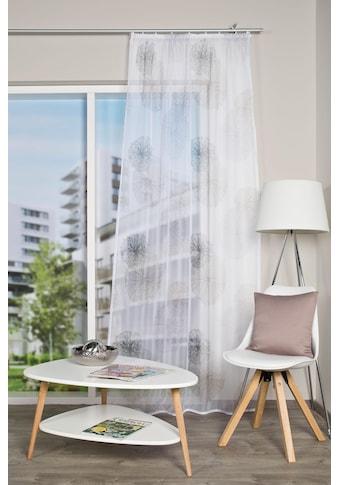 HOME WOHNIDEEN Vorhang »RAWLINS«, Schal aus Voile bedruckt kaufen