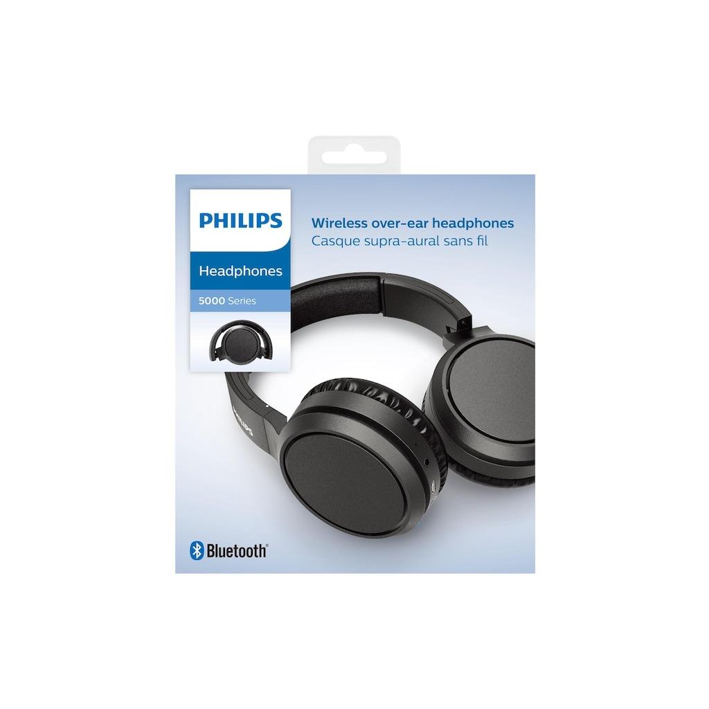 Philips Over-Ear-Kopfhörer »TAH5205BK/00«, Anruf-Management-On-Ear-Regler