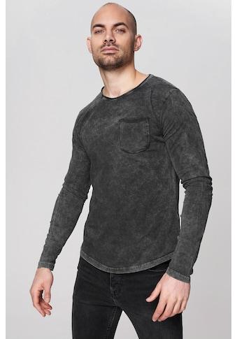trueprodigy Langarmshirt »Premium Basic Bradley« kaufen
