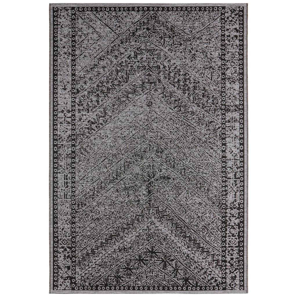 bougari Teppich »Mardin«, rechteckig, 4 mm Höhe, In- und Outdoor geeignet, Wohnzimmer