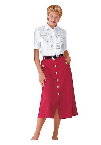 Classic Bluse mit Seitenschlitze kaufen