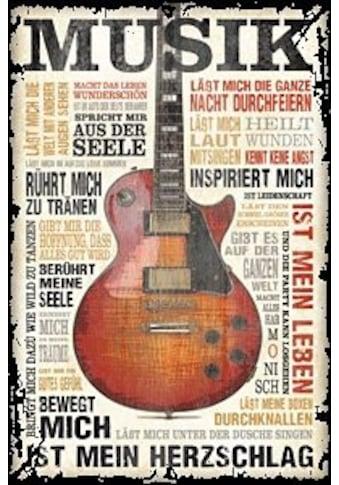 Home affaire Bild »Musik ist Leidenschaft«, 60/90 cm kaufen