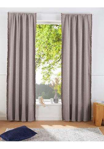 Vorhang, »LENI«, LeGer Home by Lena Gercke, Stangendurchzug 1 Stück kaufen