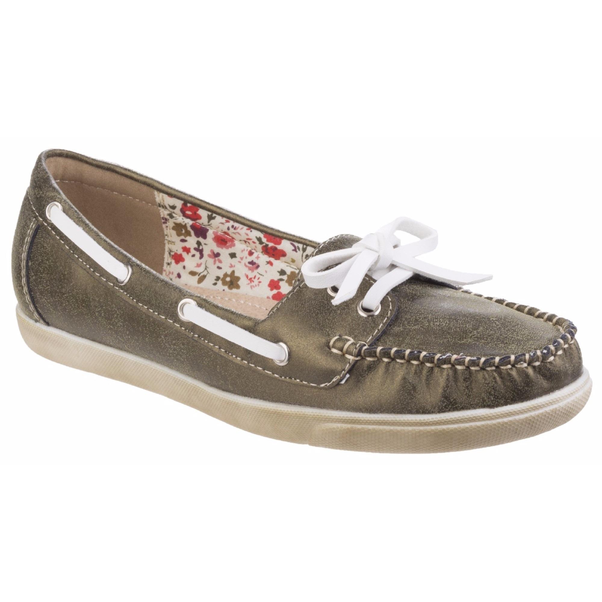 Image of Fleet & Foster Bootsschuh »Damen Melbeck leichte Boot Schuhe«
