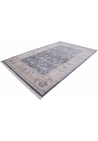 LALEE Teppich »Vintage 700«, rechteckig, 7 mm Höhe, Besonders weich durch Microfaser, Wohnzimmer kaufen