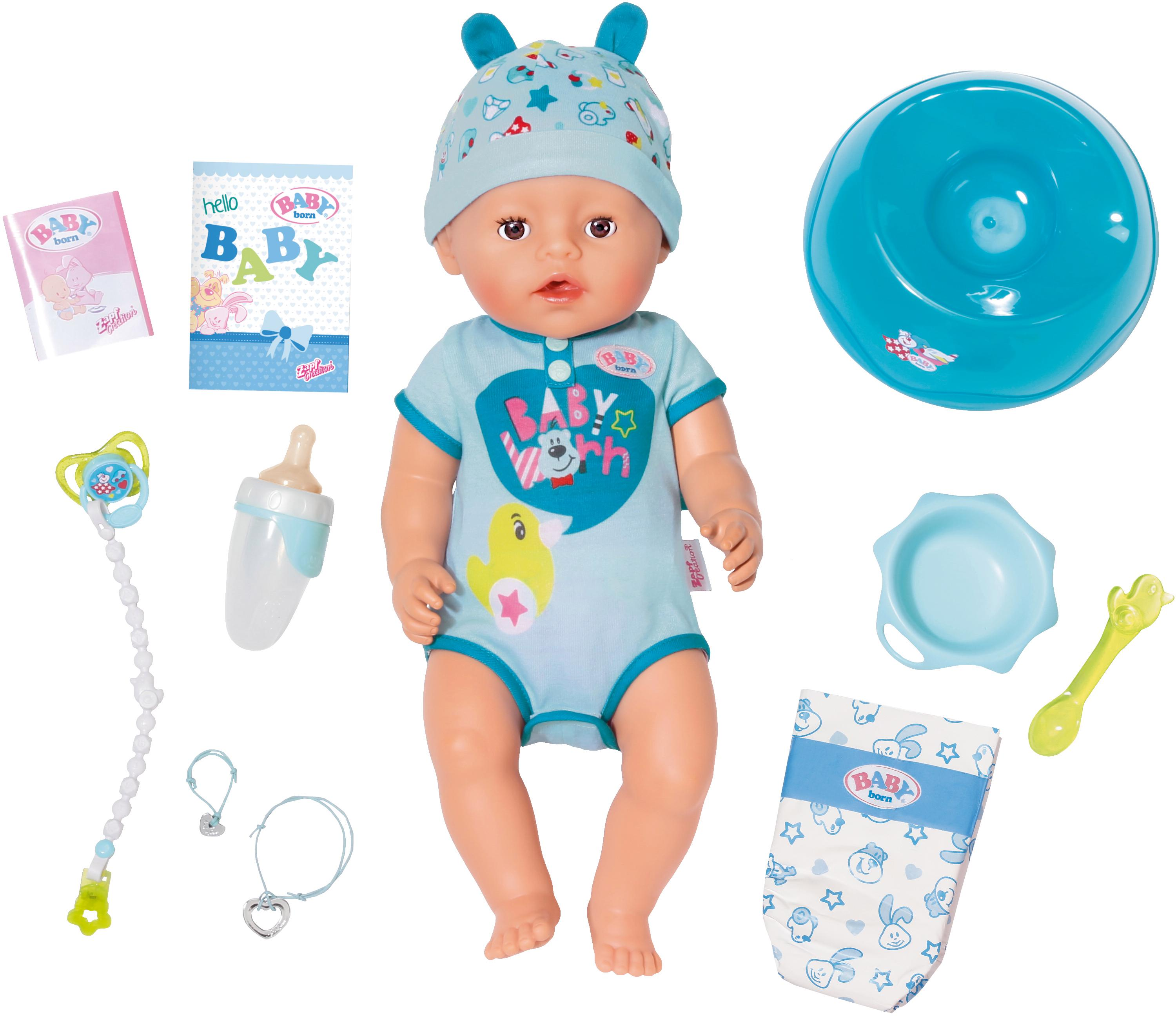 "Image of Baby Born Babypuppe ""BABY born® Soft Touch Boy"" (10-tlg.)"