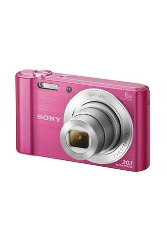 Sony Kompaktkamera »DSC-W810P Pink« kaufen