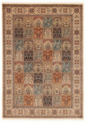 OCI DIE TEPPICHMARKE Orientteppich »Amravati«, rechteckig, 4 mm Höhe, handgeknüpft, mit Fransen, Wohnzimmer kaufen