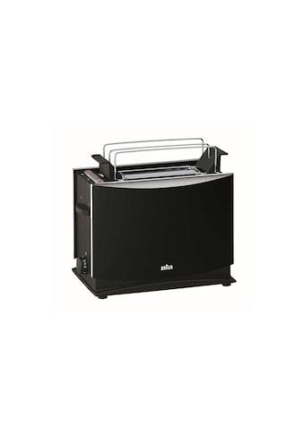 Braun Toaster »Multiquick 3 HT450, Schwarz«, für 2 Scheiben, 1000 W kaufen