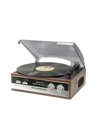 Stereoanlage, soundmaster, »PL186H Braun« kaufen