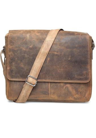 Packenger Messenger Bag »Vethorn, vintage«, mit 15-Zoll Laptopfach kaufen