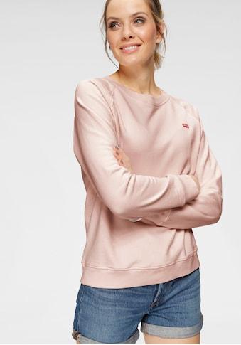 Levi's® Sweatshirt »Relaxed Crew New«, mit Mini- Batwing Logo kaufen