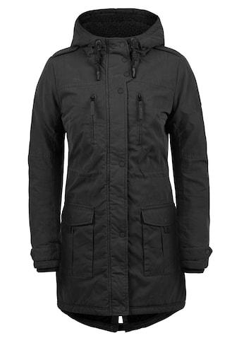 DESIRES Parka »Lotta«, warme Jacke mit hochabschliessendem Kragen kaufen