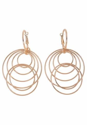 J.Jayz Paar Ohrhänger »mit beweglichen Ringen im modernen Design«, (1 tlg.) kaufen