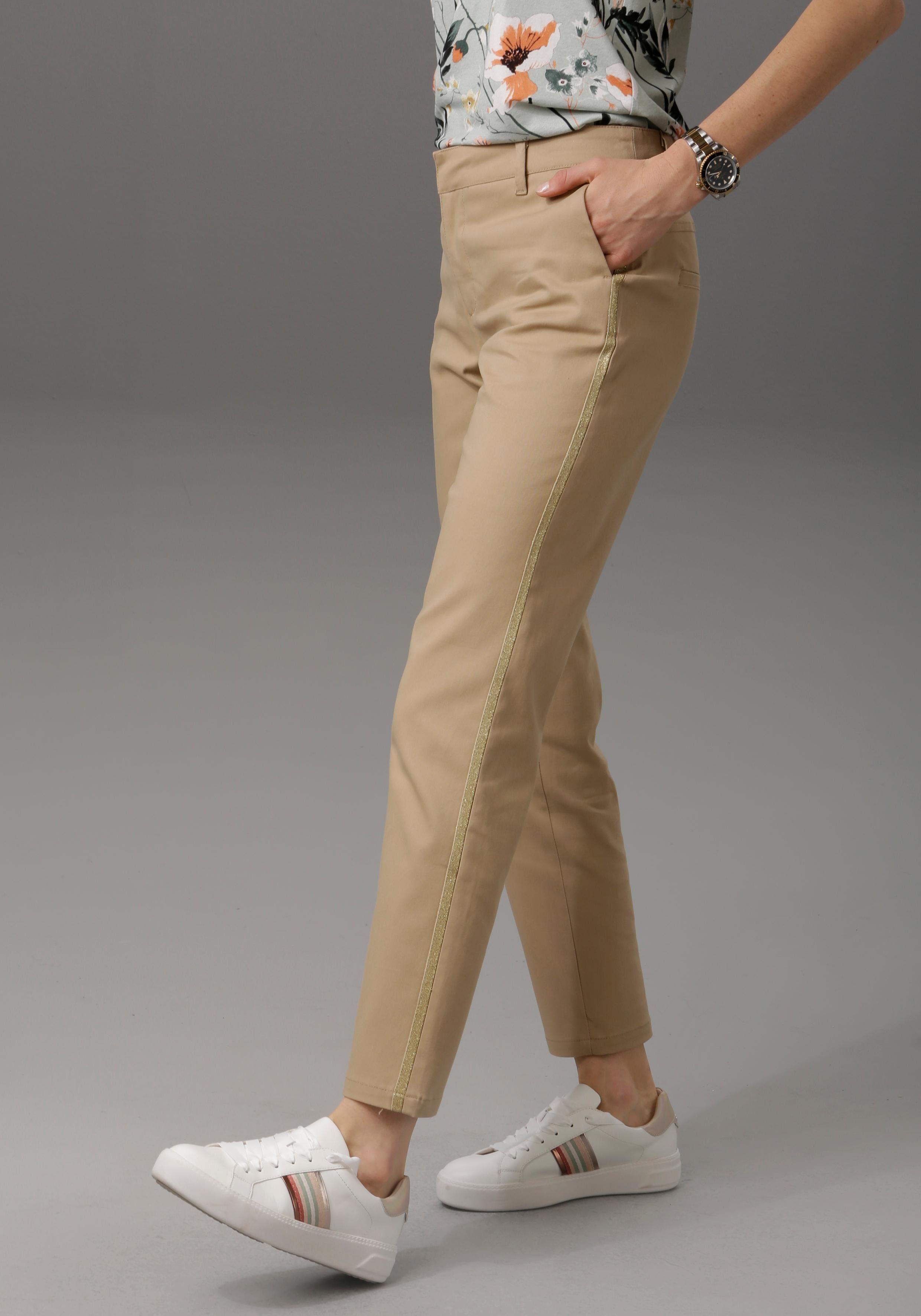 Image of Aniston CASUAL Chinohose