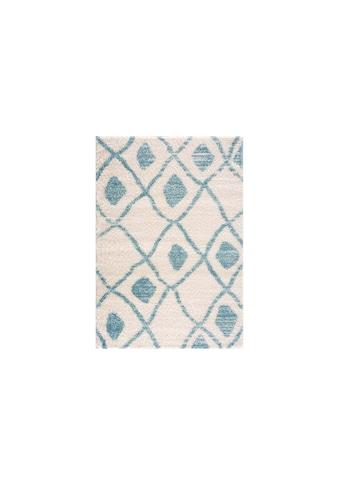 Teppich »Pulpy blue/white«, quadratisch, - mm Höhe kaufen