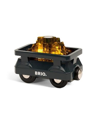 BRIO® Spielzeug-Lokomotive »Goldfarbenwaggon mit Licht« kaufen