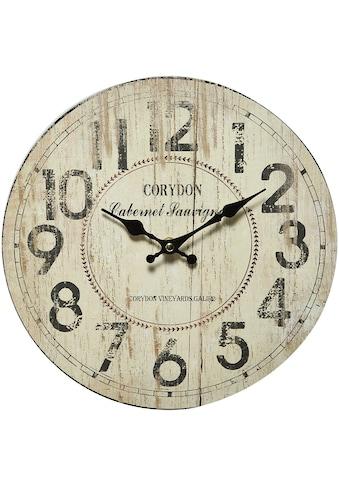 Ambiente Haus Wanduhr »Corydon Wanduhr 28cm« kaufen