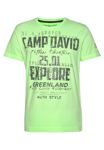 CAMP DAVID T - Shirt kaufen