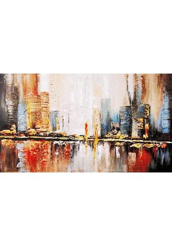 my home Gemälde »Reflektion«, (100/3,5/70 cm) kaufen