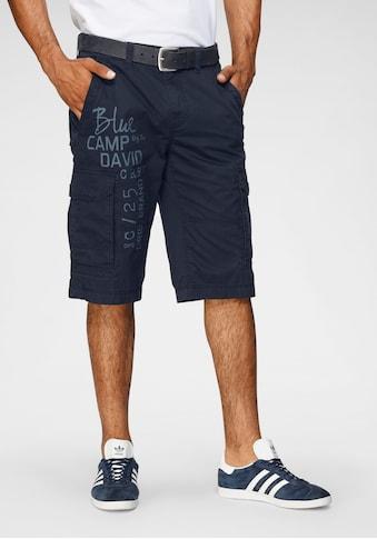 CAMP DAVID Cargobermudas, mit grossen Taschen kaufen