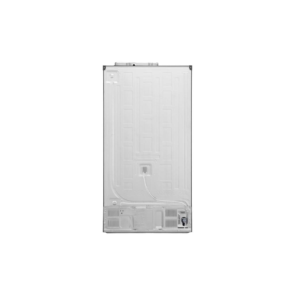 LG Kühl-/Gefrierkombination »GSL461ICEE Grau, A++«