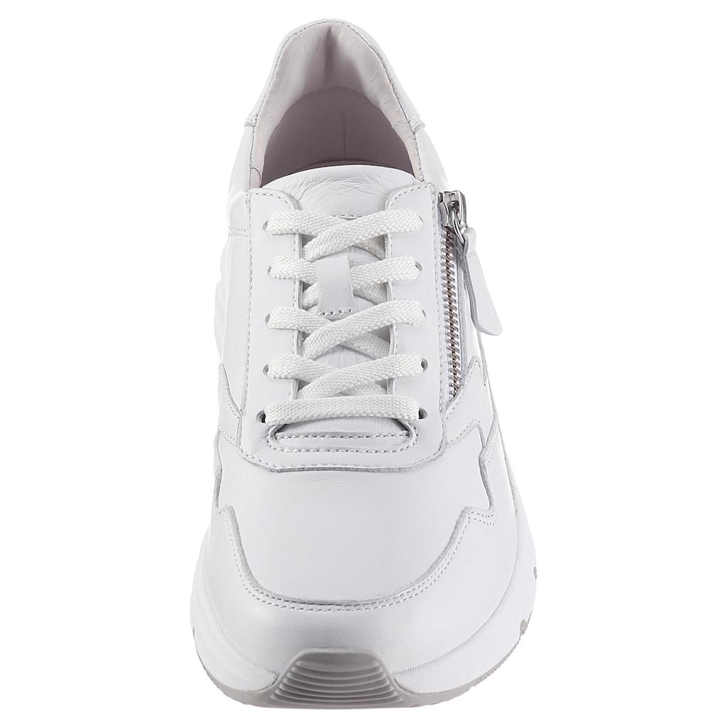 Gabor Rollingsoft Keilsneaker, mit Aussenreissverschluss