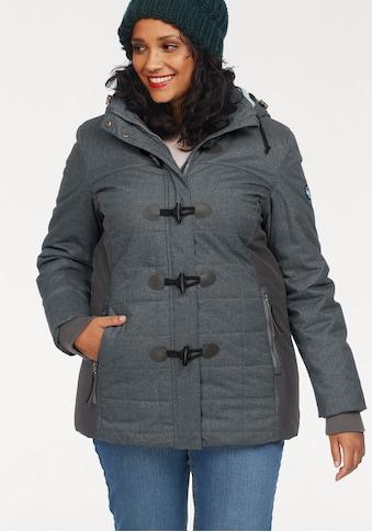 Polarino Funktionsjacke, mit seitlichen Einsätzen und Knebelknöpfen kaufen