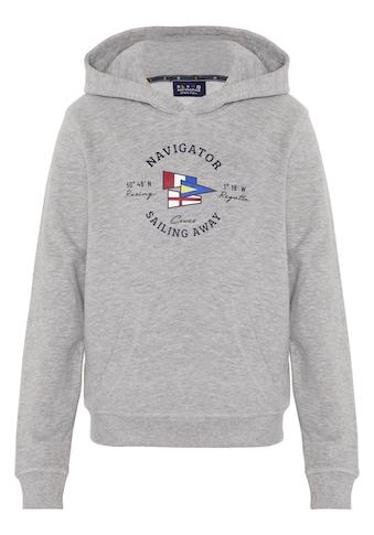 NAVIGATOR Sweatshirt »Boys Sweatshirt mit Kängurutasche, GOTS«, Regular Fit kaufen