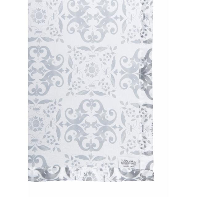 Gardine, »Azulejo«, Guido Maria Kretschmer Home&Living, Ösen 2 Stück
