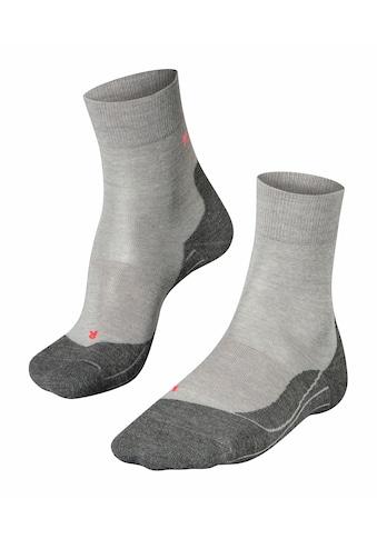 FALKE Laufsocken »RU4 Wool Running«, (1 Paar), mit mittelstarker Polsterung kaufen