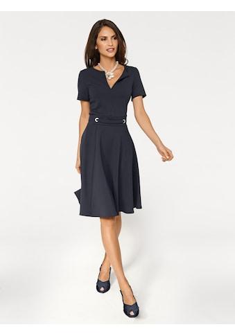 ASHLEY BROOKE by Heine A-Linien-Kleid, mit Zier-Ösen kaufen