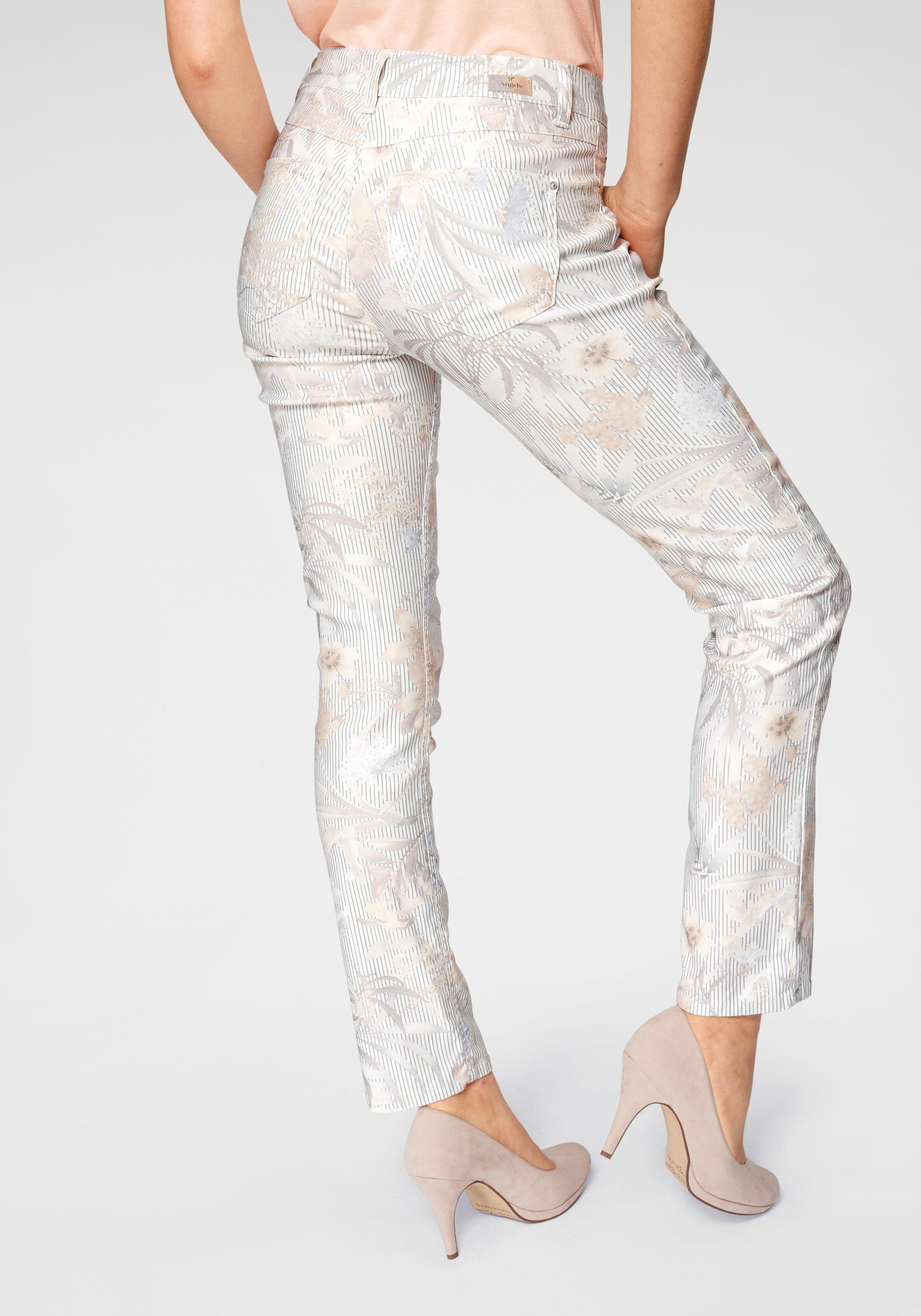Image of ANGELS Ankle-Jeans »Cici bedruckt«