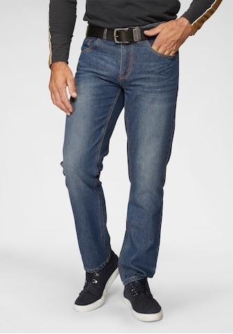 Arizona Slim-fit-Jeans »Clint«, mit dezenter Waschung kaufen