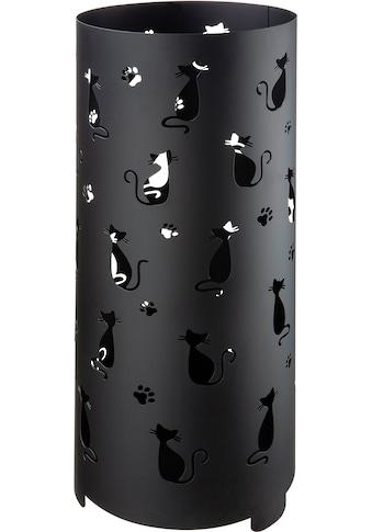 GILDE Schirmständer »Regenschirmständer Cats, schwarz«, für Regenschirme, Höhe 55 cm,... kaufen