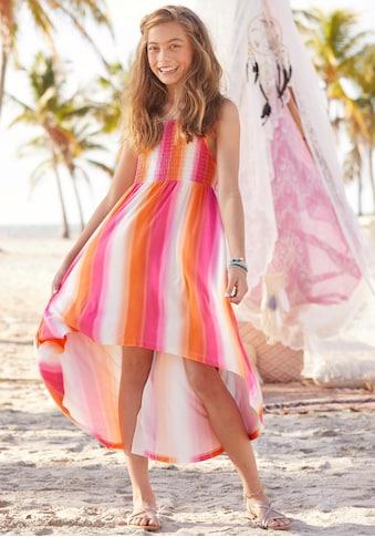 KIDSWORLD Vokuhila-Kleid, mit Smokeinsatz kaufen