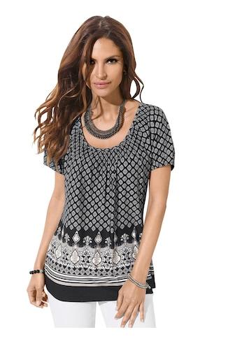 Classic Inspirationen Shirt mit platziertem Bordüren - Druck kaufen
