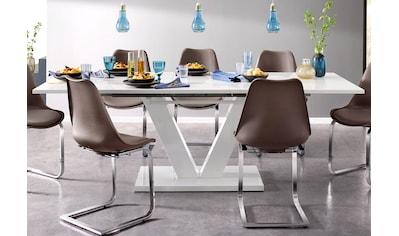INOSIGN Esstisch »Andy«, mit Auszugsfunktion, 2 Breiten (140-180 cm oder 180-220 cm),... kaufen