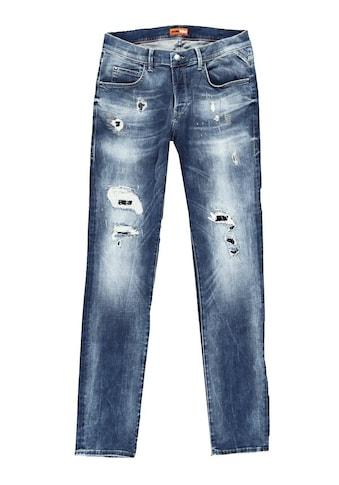emilio adani Superstretch Jeans mit modischen Destroys kaufen
