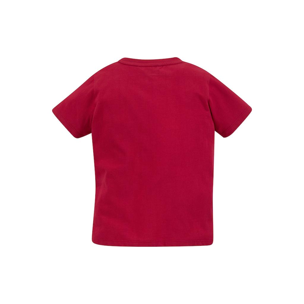 TOM TAILOR Polo Team T-Shirt »Segelschiff«