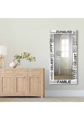 Artland Wandspiegel »Wo die Liebe wohnt« kaufen