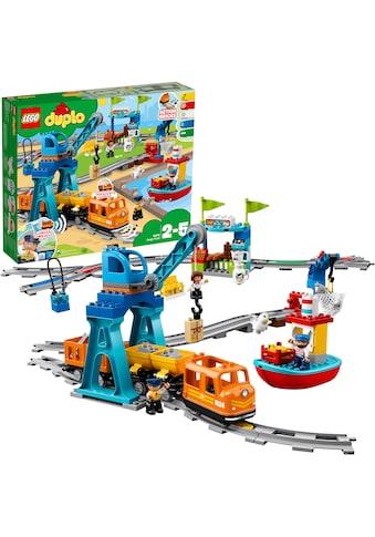 """LEGO® Konstruktionsspielsteine """"Güterzug (10875), LEGO® DUPLO® Town"""", Kunststoff, (105 - tlg.) kaufen"""