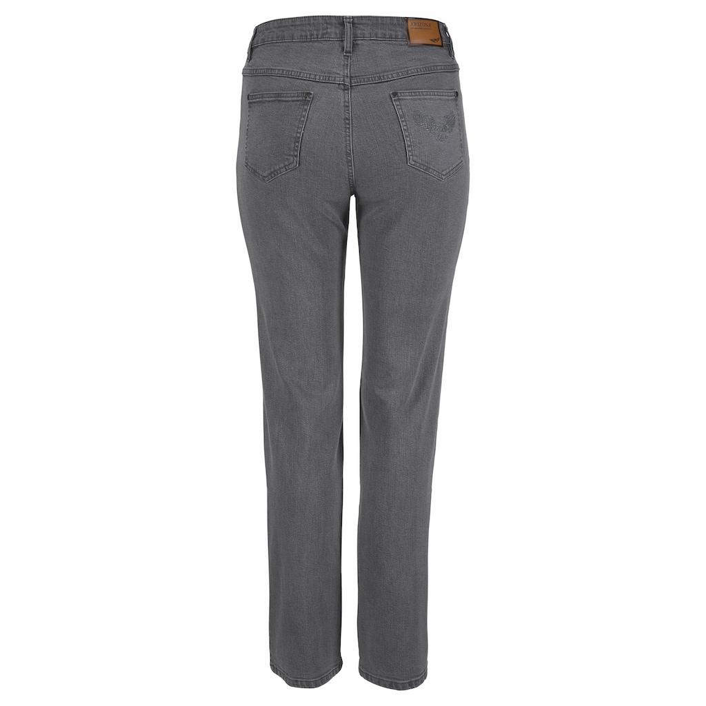 Arizona Gerade Jeans »Comfort-Fit«, High Waist