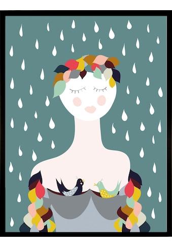 Home affaire Kunstdruck »Rainy Lady« kaufen
